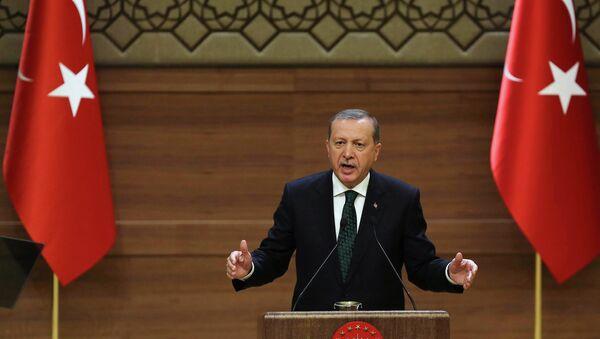 Turkish President Recep Tayyip Erdogan - Sputnik Česká republika