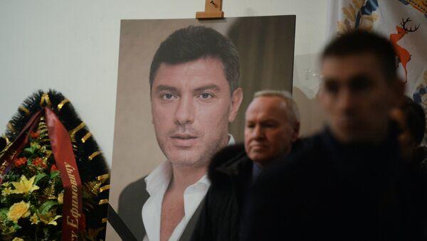 Pohřeb Borisa Němcova - Sputnik Česká republika