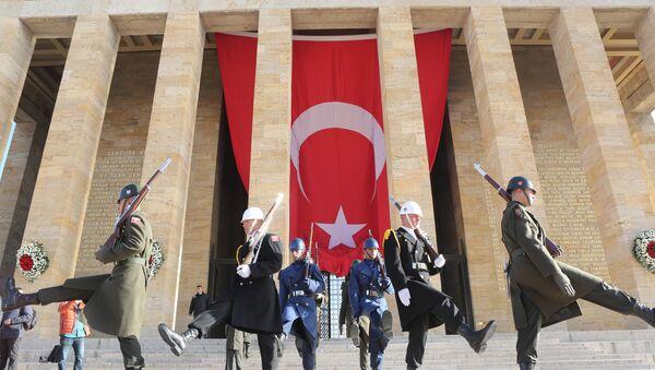 Turecká vlajka - Sputnik Česká republika