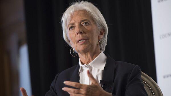 Ředitelka Mezinárodního měnového fondu Christine Lagardeová - Sputnik Česká republika