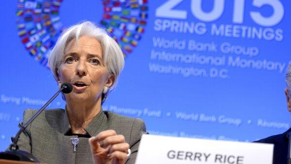 Výkonná ředitelka MMF Christine Lagardeová - Sputnik Česká republika