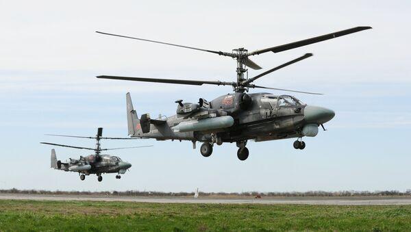 Ka-52 - Sputnik Česká republika