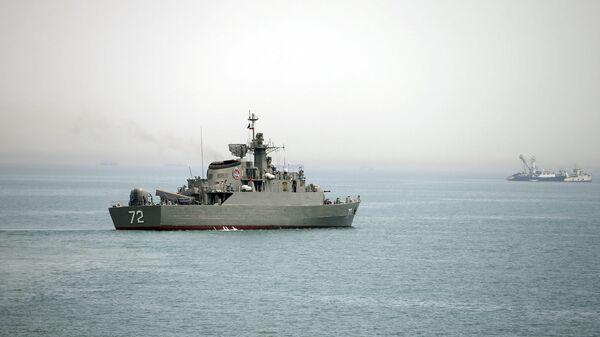 Íránská vojenská loď Alborz - Sputnik Česká republika
