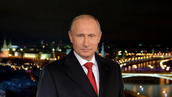 Tradiční novoroční projev Vladimira Putina - Sputnik Česká republika