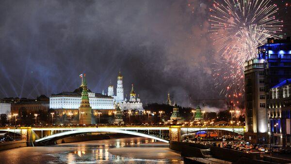 Ohňostroj nad Moskvou - Sputnik Česká republika