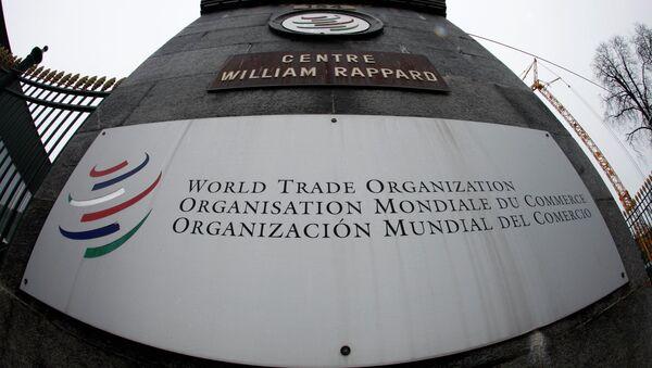 Světová obchodní organizace (WTO) - Sputnik Česká republika