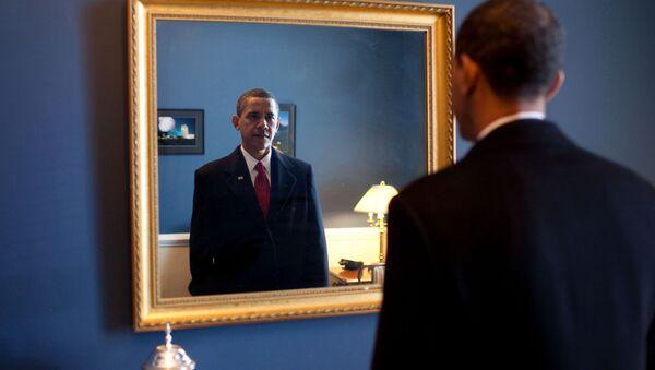 Barack Obama v roce 2009 - Sputnik Česká republika