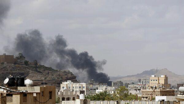 Letecký útok v Jemenu - Sputnik Česká republika