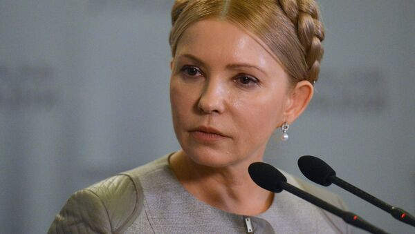 Julie Tymošenková - Sputnik Česká republika