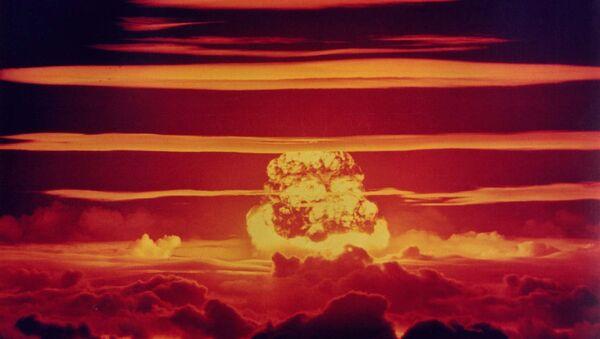 Jaderný test - Sputnik Česká republika