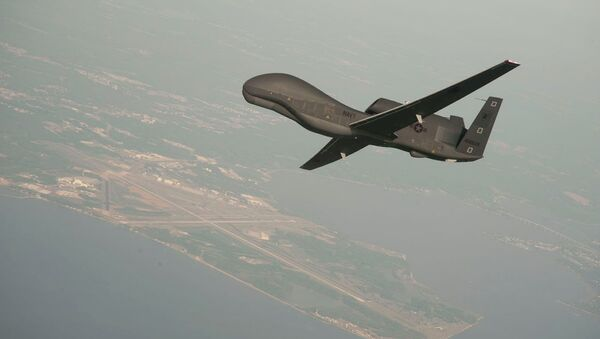Bezpilotní letoun RQ-4 Global Hawk - Sputnik Česká republika