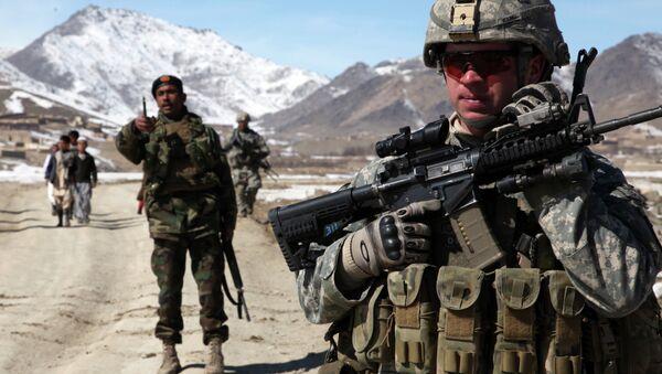 Vojáci USA a Afghánistánu - Sputnik Česká republika