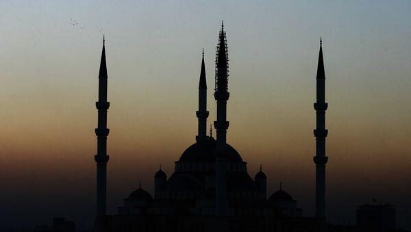 Pohled na mešitu Kocatepe v Ankaře - Sputnik Česká republika