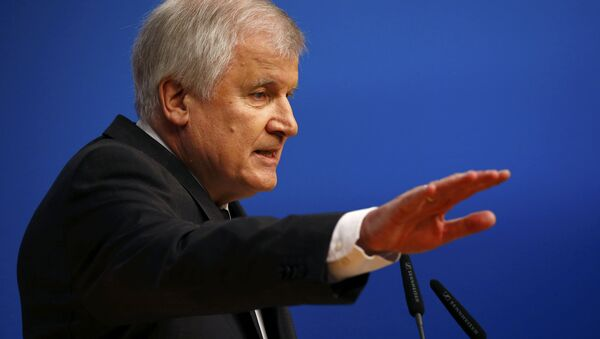 Premiér Bavorska Horst Seehofer - Sputnik Česká republika