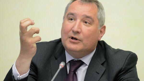 Vicepremiér Ruska pro obranný průmysl Dmitrij Rogozin - Sputnik Česká republika