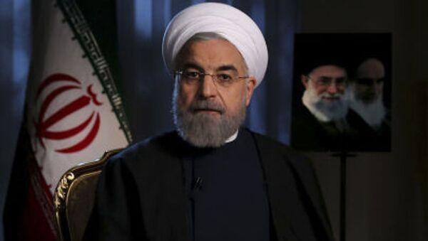 Íránský prezident Hasan Rúhání - Sputnik Česká republika