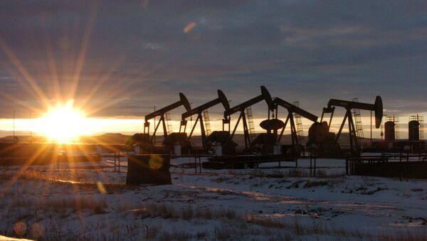 Těžba ropy v Severní Dakotě - Sputnik Česká republika