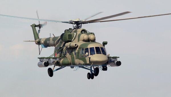 Vrtulník Mi-8AMTSh-V - Sputnik Česká republika