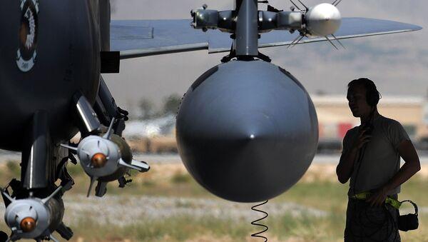 F-15E vojenského letectva USA v Afghánistánu - Sputnik Česká republika