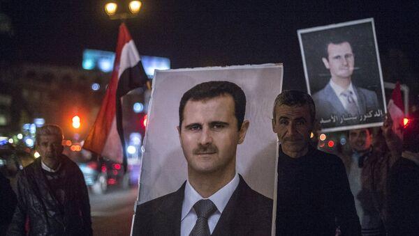 Portrét Bašára Asada - Sputnik Česká republika