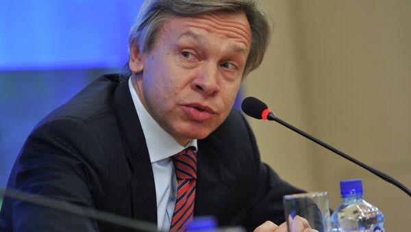Předseda zahraničního výboru ruské Státní dumy Alexej Puškov - Sputnik Česká republika