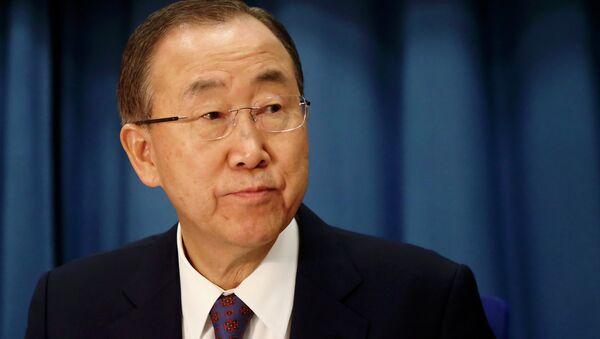 Ban Ki-moon - Sputnik Česká republika