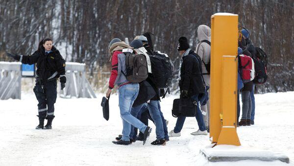 Migranti v Norsku - Sputnik Česká republika