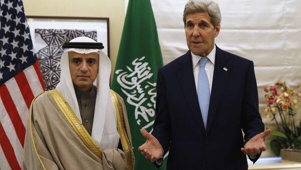 Ádil Džubajr a John Kerry - Sputnik Česká republika