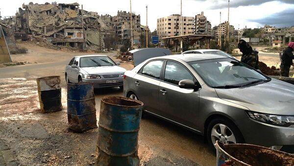 Ruiny syrského Homsu - Sputnik Česká republika