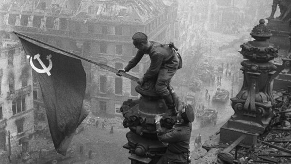 Prapor vítězství nad Říšským sněmem - Sputnik Česká republika