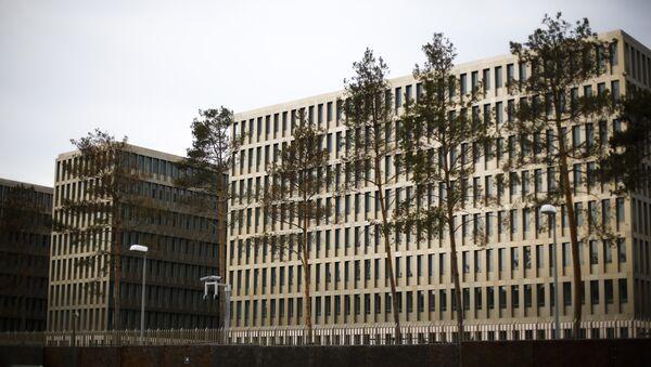 Budova BND - Sputnik Česká republika