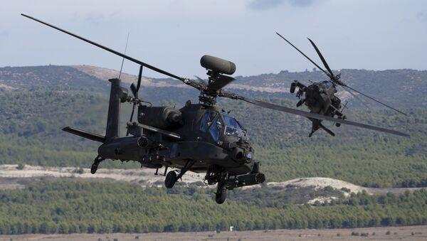 Vrtulník AH-64 Apache - Sputnik Česká republika