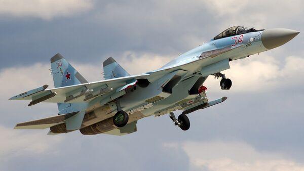 Su-35S - Sputnik Česká republika