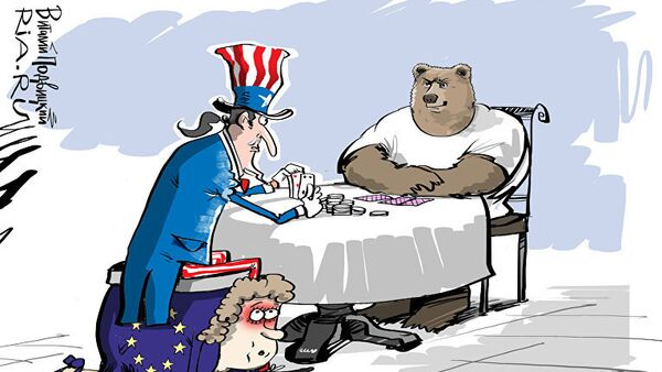 Proamerické sankce? - Sputnik Česká republika