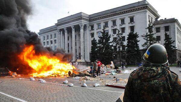 Nepokoje v Oděse - Sputnik Česká republika