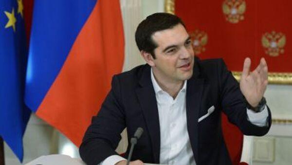Řecký premiér Alexis Tsipras - Sputnik Česká republika