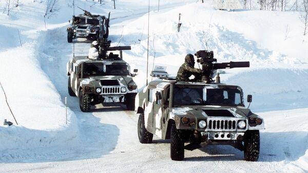 Cvičení NATO v Norsku - Sputnik Česká republika