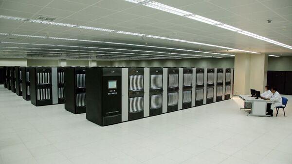 Superpočítač Tianhe-1A - Sputnik Česká republika