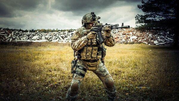 Prezentace produkce firmy Kalashnikov USA - Sputnik Česká republika
