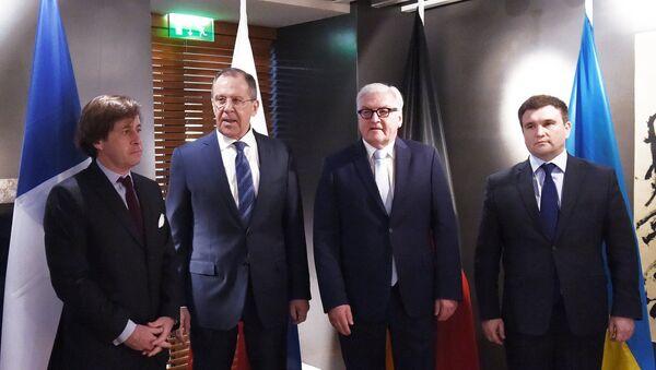 """Schůzka """"normandské čtyřky"""" - Sputnik Česká republika"""