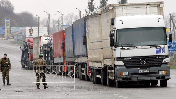 Rusko-ukrajinská hranice - Sputnik Česká republika