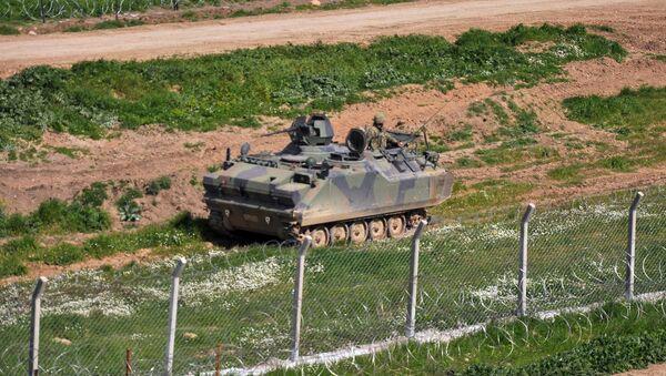 Turecký tank - Sputnik Česká republika