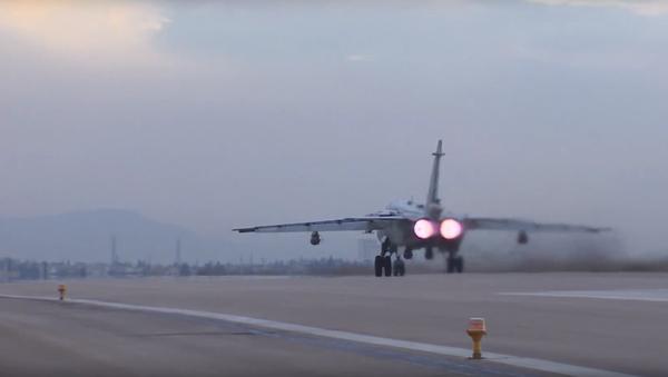 Ruské bombardéry Su-24 a Su-34 se vydaly do boje proti teroristům - Sputnik Česká republika