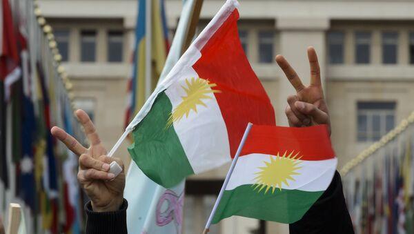 Vlajky Kurdistánu - Sputnik Česká republika