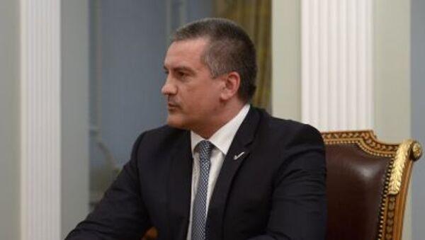Hlava Krymu Sergej Aksjonov - Sputnik Česká republika