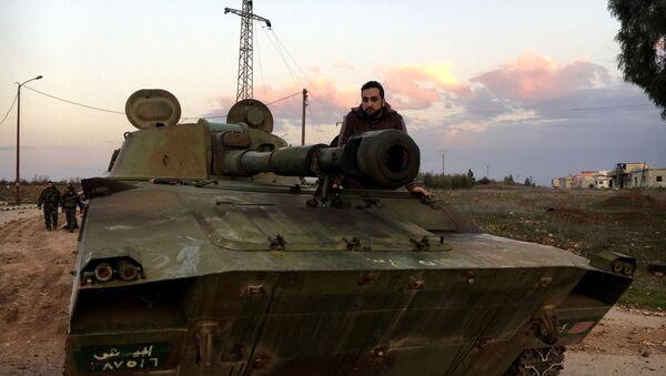 Syrská vojenská technika - Sputnik Česká republika