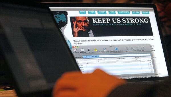 Webová stránka WikiLeaks - Sputnik Česká republika