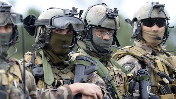 Francouzští vojáci - Sputnik Česká republika