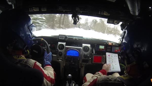 Sněhová rally-raid v Rusku, jediná ve světě - Sputnik Česká republika