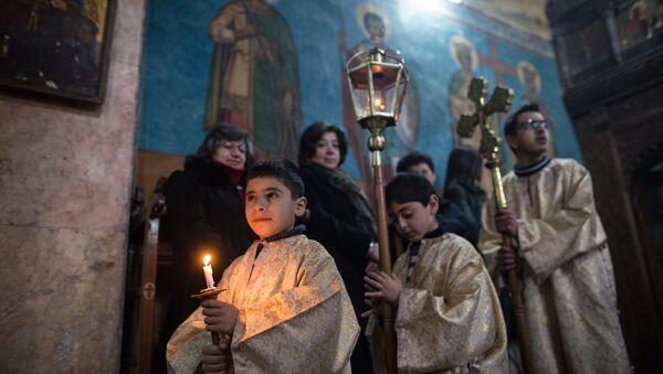 Kostel v Homsu - Sputnik Česká republika